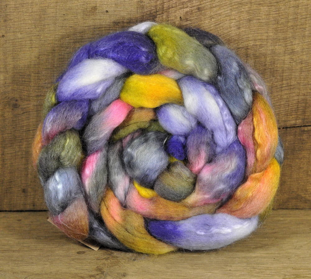 BFL/Kid Mohair Top - 'Playful'