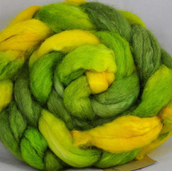 BFL/Kid Mohair Top - Zesty