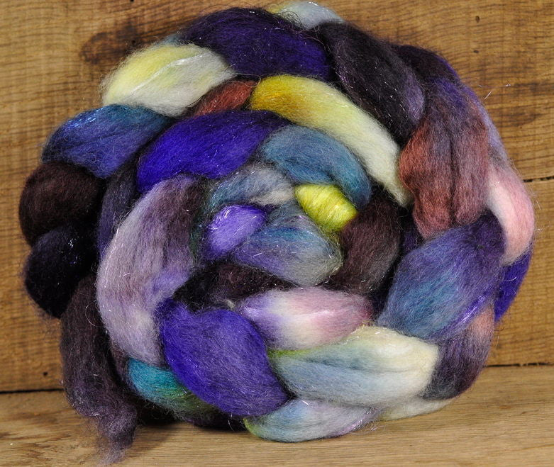 BFL Wool / Sparkly Nylon Top - 'Eventide'