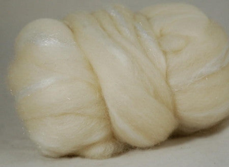 Undyed BFL/Sparkly Nylon Top