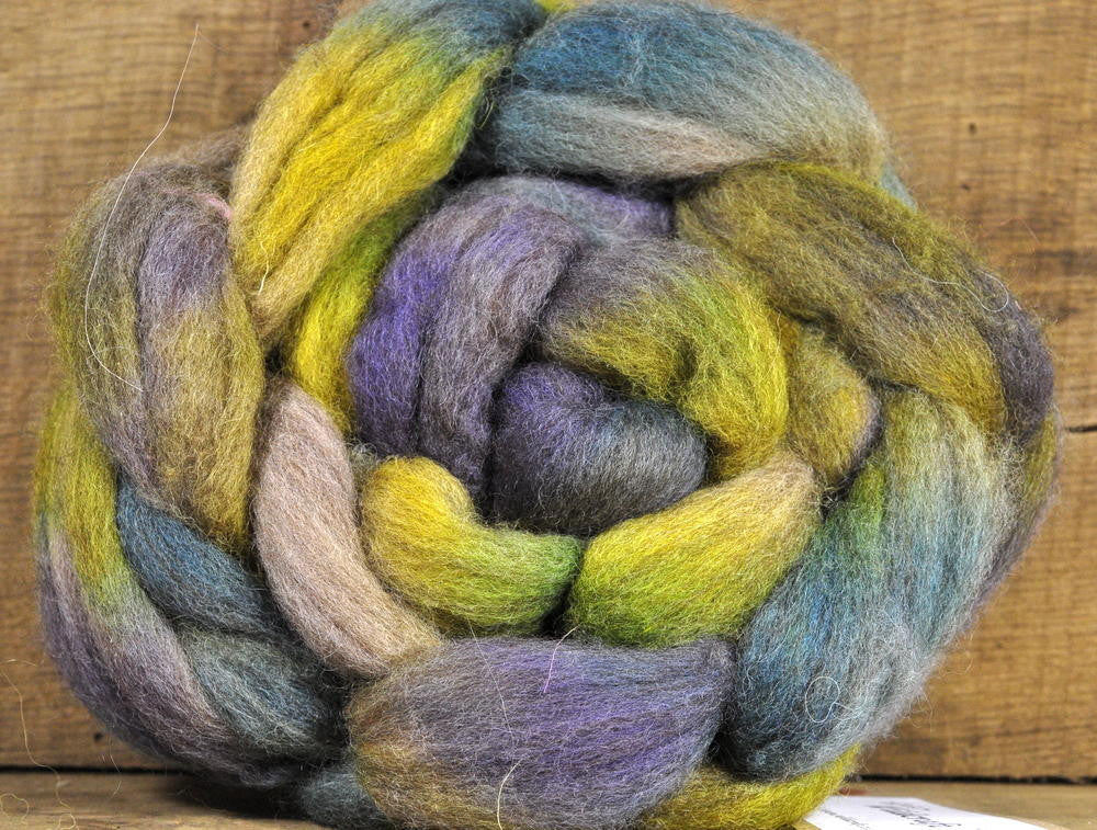 BFL Wool Top for Hand Spinning - 'Water's Edge' (shades)