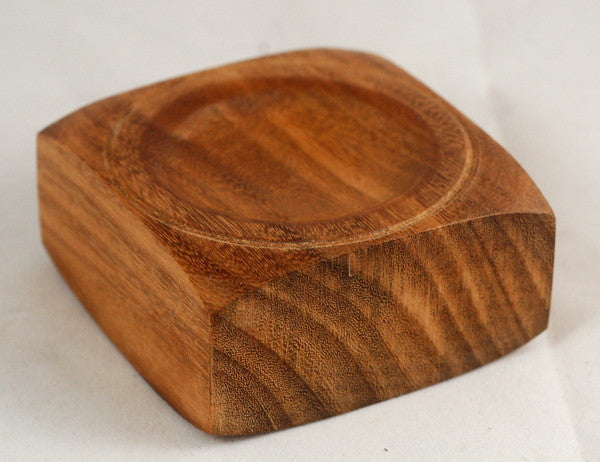 Wooden Spindle Bowl: Recycled Teak 02