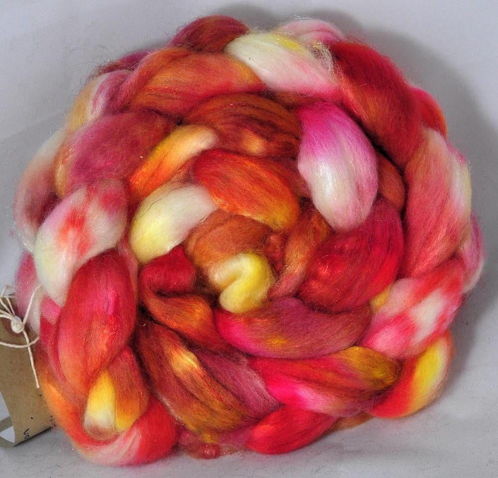 BFL Wool / Sparkly Nylon Top - Pimpernel