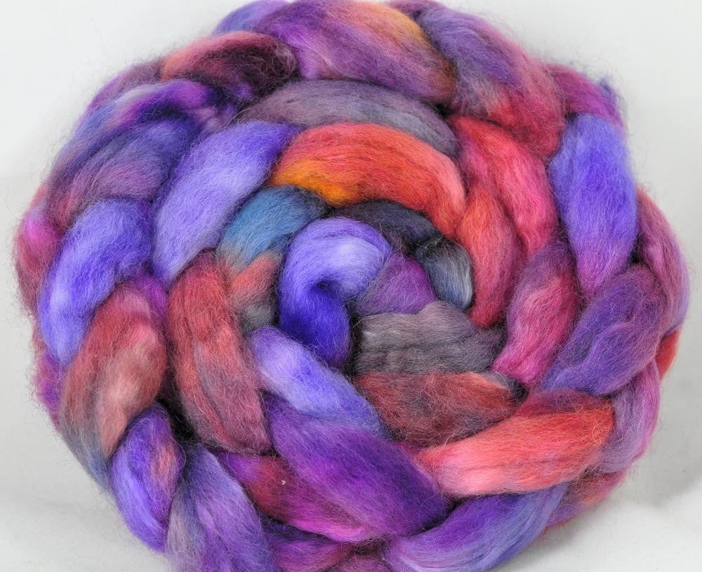 BFL/Kid Mohair Top - Purple Haze
