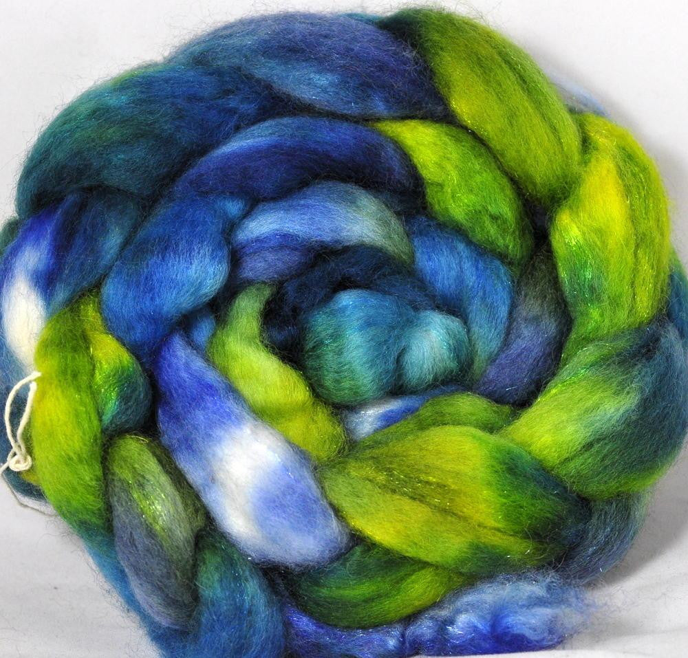 BFL Wool / Sparkly Nylon Top - Glinting