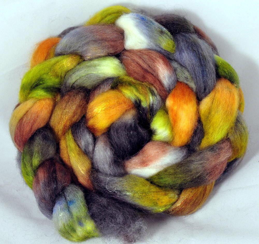 BFL Wool / Sparkly Nylon Top - Jungle