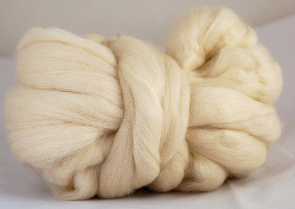 Undyed Corriedale Wool Top