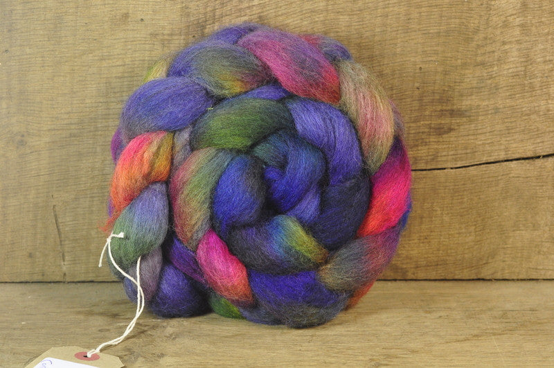 Corriedale Wool Top - 'Cosmos'