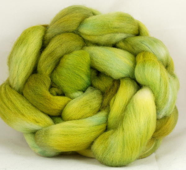 Corriedale Wool Top for Hand Spinning - Euphorbia