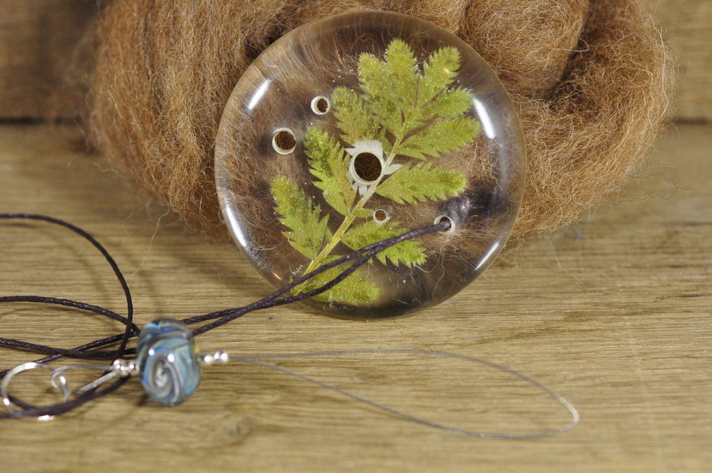 Resin Spinner's Diz with Threader: Silverweed