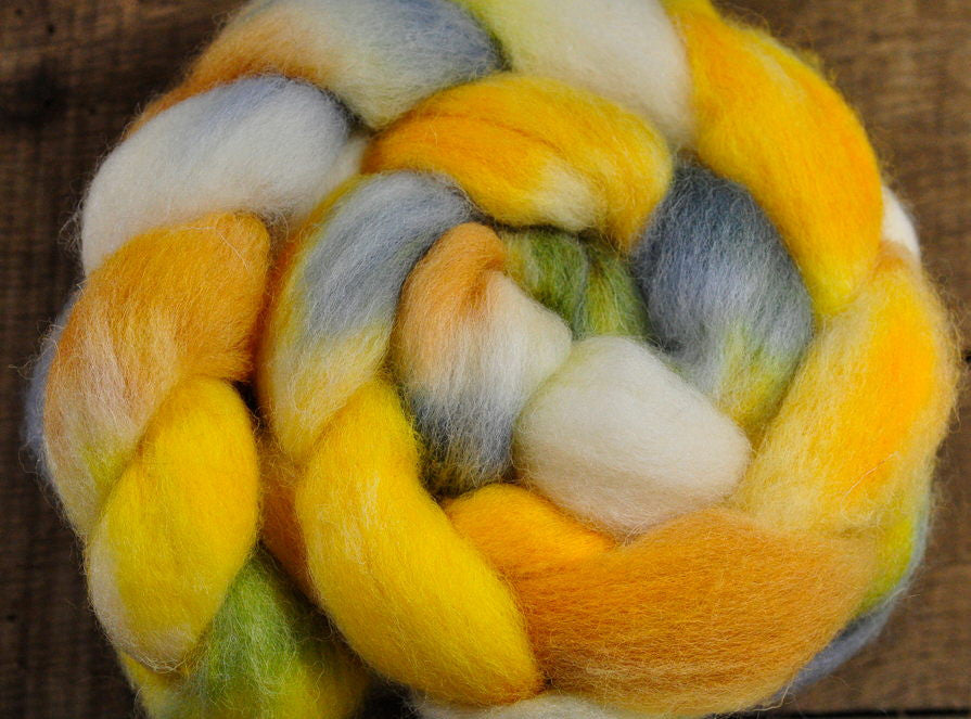 English Wool Blend Top - 'Narcissus'