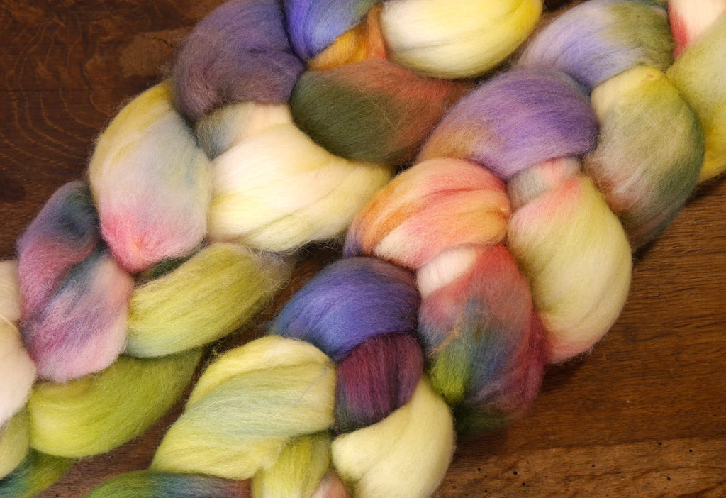 Falkland Wool Top - 'Spring Patchwork'