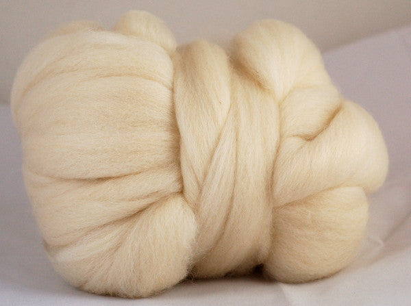 Undyed Falkland Wool Top