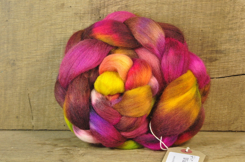 Falkland Wool Top - 'Compote'