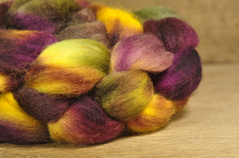 Falkland Wool Top - 'Fig'