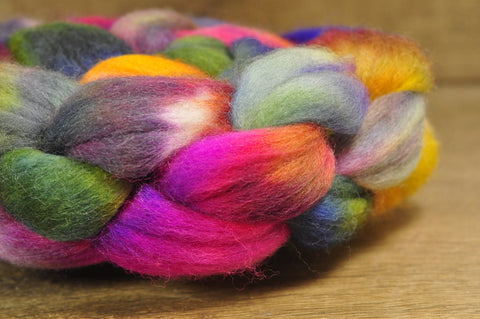 Falkland Wool Top - 'Late Blooms'