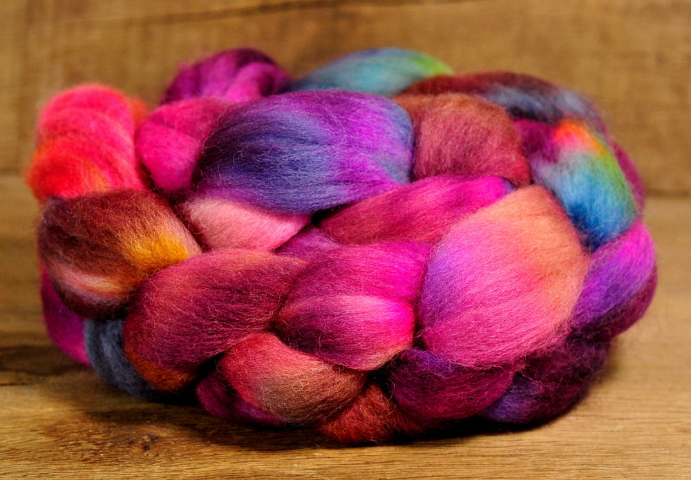 Falkland Wool Top - 'Very Berried'