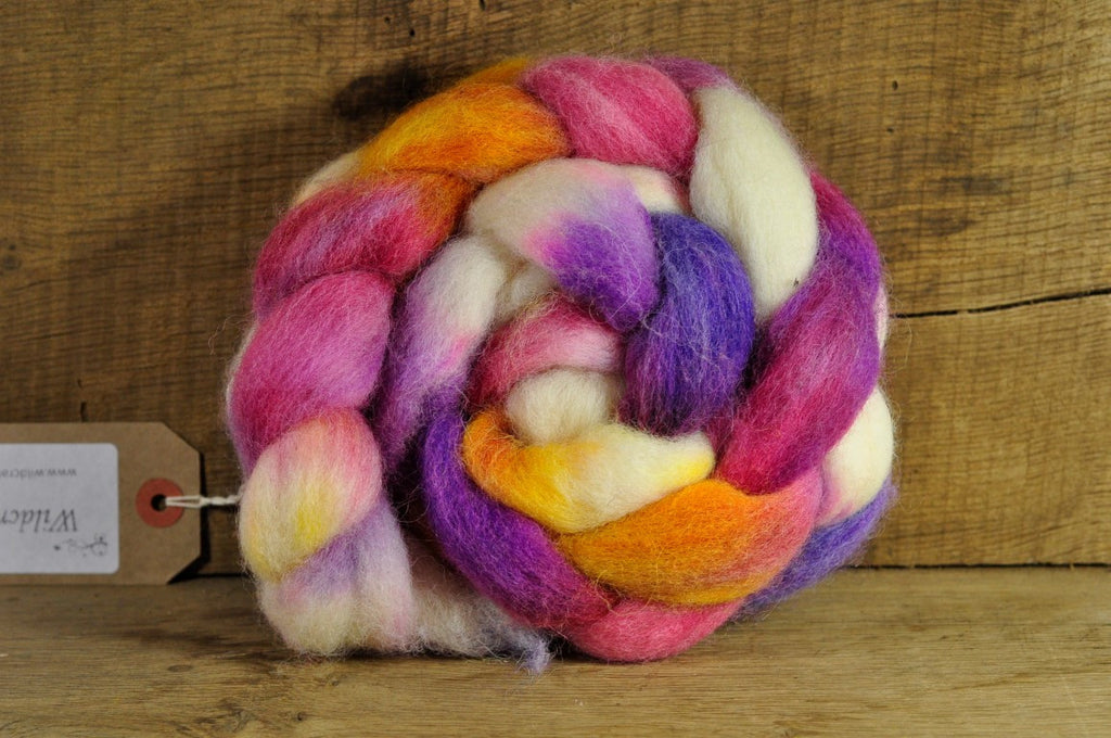 Finn Wool Top for Handspinning - 'Laundry Day'