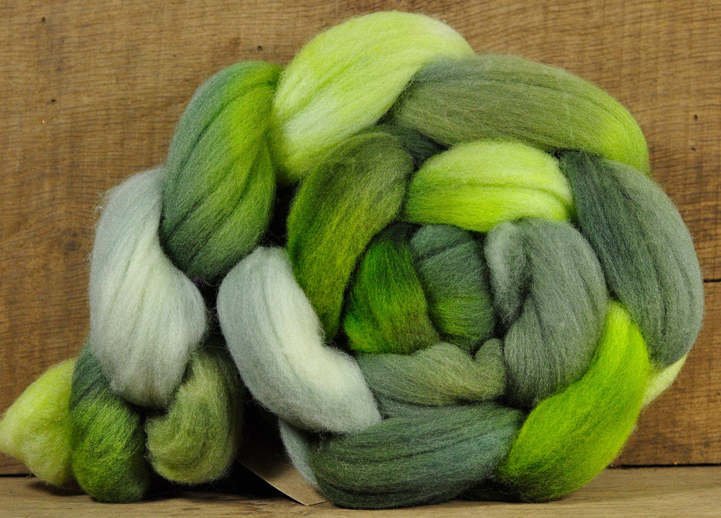 Ile de France Wool Top - 'Avocado'
