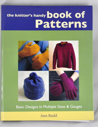 Book: The Knitter's Handy Book of Patterns, by Ann Budd