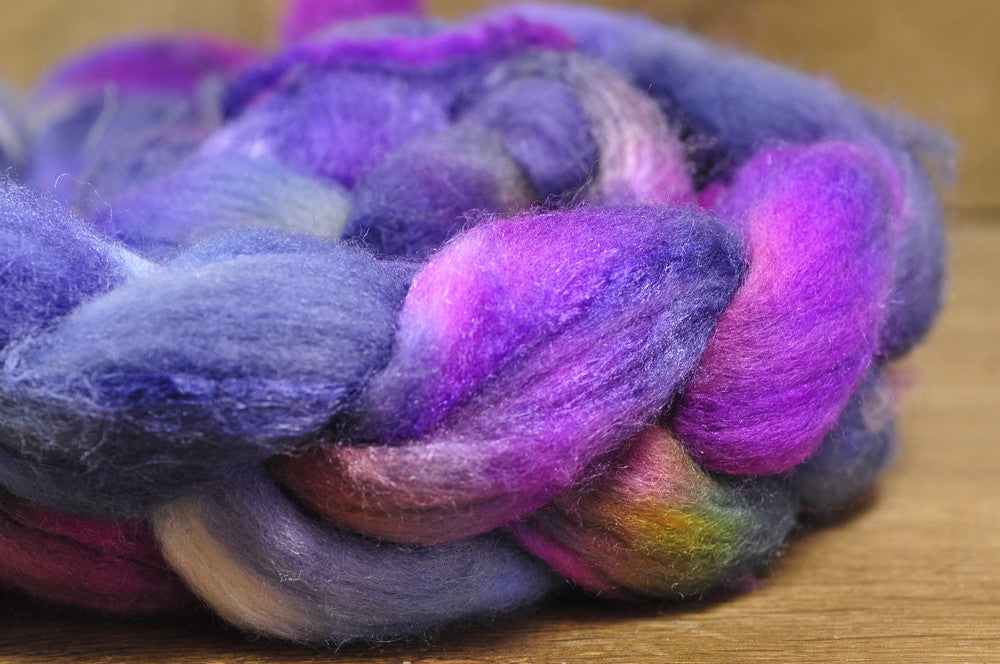 Merino/Silk Top for Handspinning - 'Cosmos'
