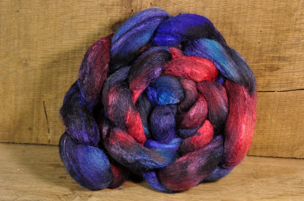 Merino/Silk Top for Handspinning - 'Damask Shades'