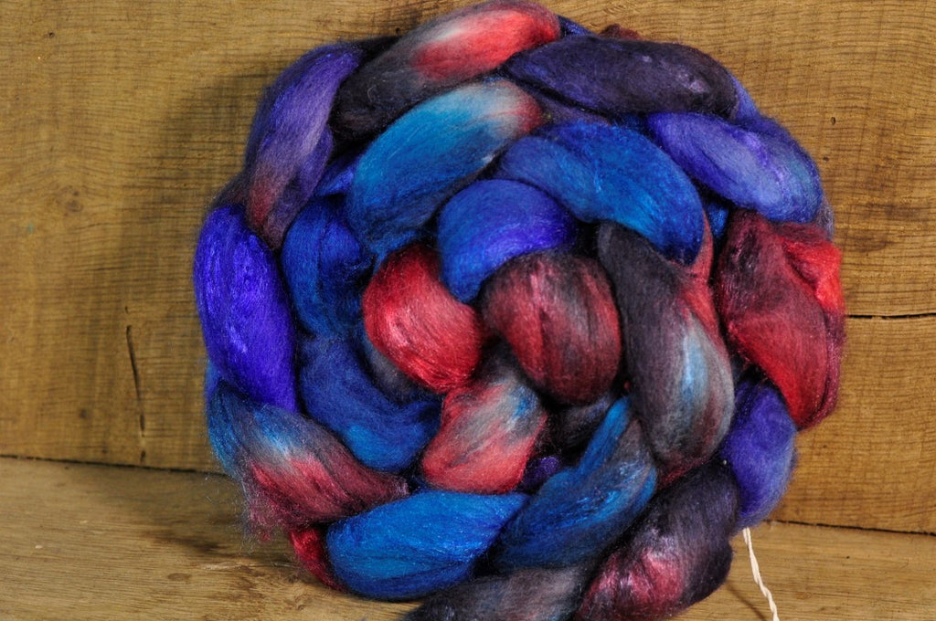 Merino/Silk Top for Handspinning - 'Opulence'