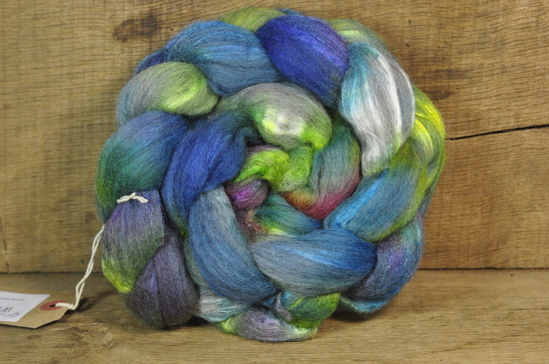 Merino/Silk Top for Handspinning - 'Sea Shades'