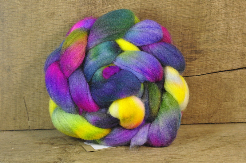 Polwarth Wool Top for Handspinning - 'Perennials'