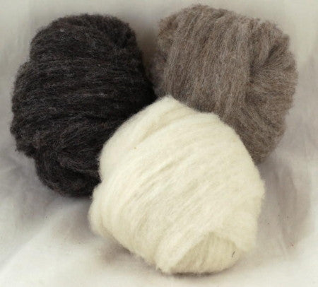 Homegrown Ryeland Sliver - 150g Colourwork Set