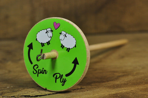 Basic Drop Spindle - Friendly Sheep
