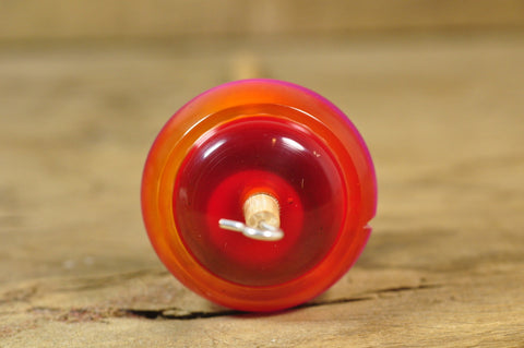 Lightweight Resin Drop Spindle - Sunset Colours