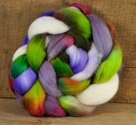 Superwash English Wool Blend - Jumbo Braid: Eclectica