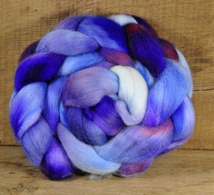 Superwash English Wool Blend - Jumbo Braid: Lilac Mood