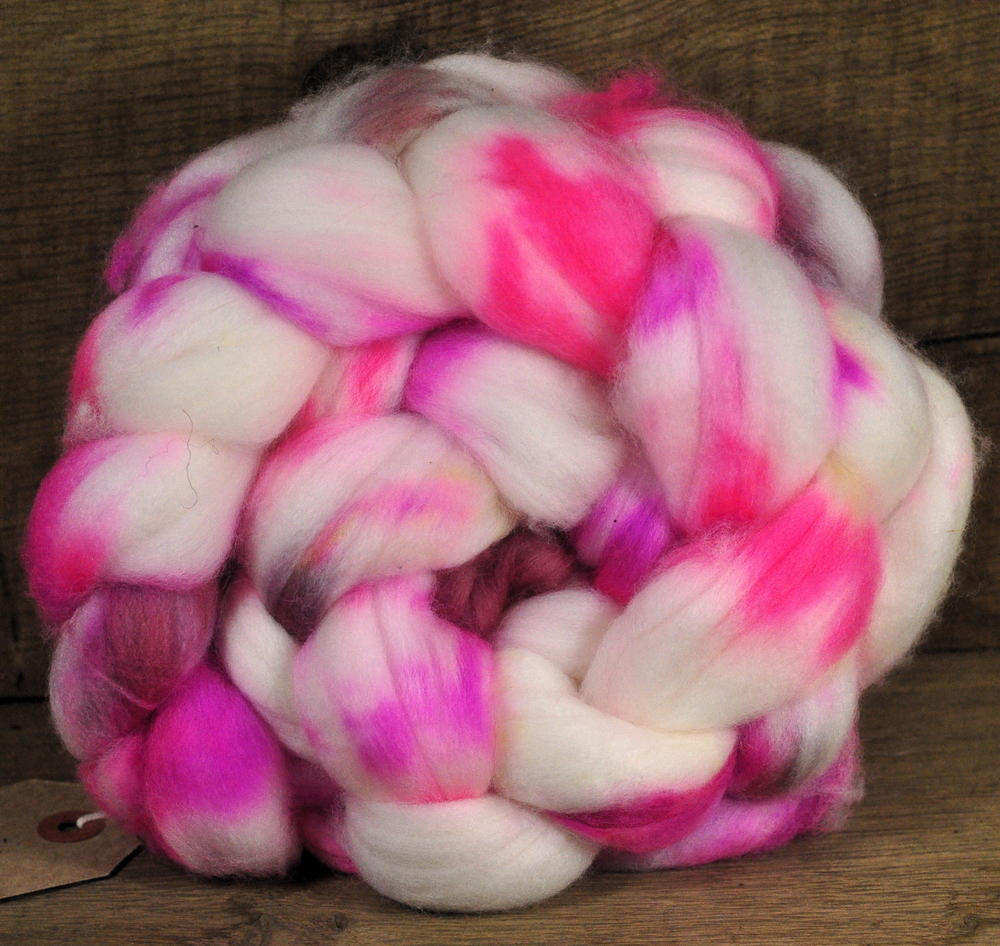 Superwash Falkland Wool Top - 'Blossom'