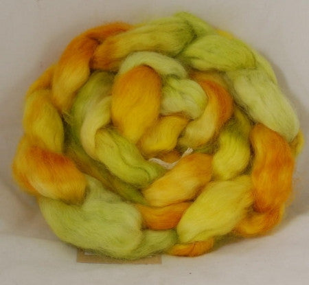 Wensleydale Wool top - Buttercups