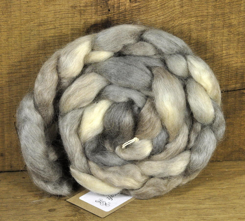 Wensleydale Wool top - Honesty Moons