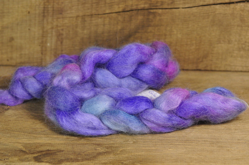 SALE! Wensleydale Wool top - 'Colour of Magic'