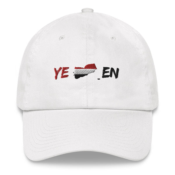 Yemen Map Flag Cap