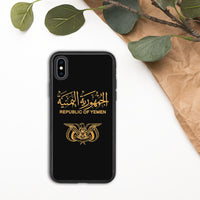 Republic Of Yemen Biodegradable iPhone Case