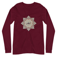 اليمن Islamic Pattern Unisex Long Sleeve Tee