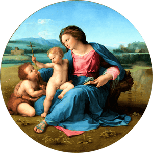 Load image into Gallery viewer, The-Alba-Madonna