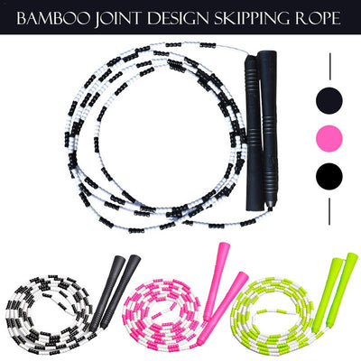 Bamboo Joint Design Skipping Rope