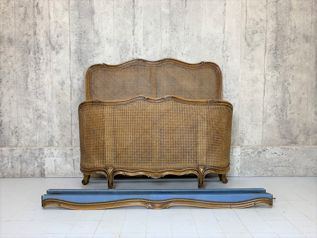 Half/Demi Corbeille French Cane Bed Frame