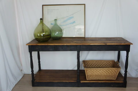 1930's Shop Counter / Console Table