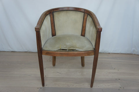 1930's Art Deco Armchair to reupholster