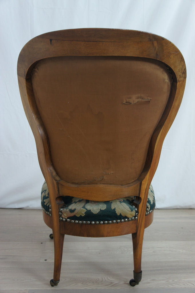French Bedroom Boudoir Chair Vintage French