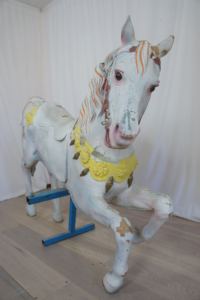 1930 S Carousel Horse Vintage French