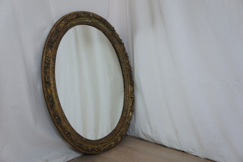 18th Century Oval Mirror