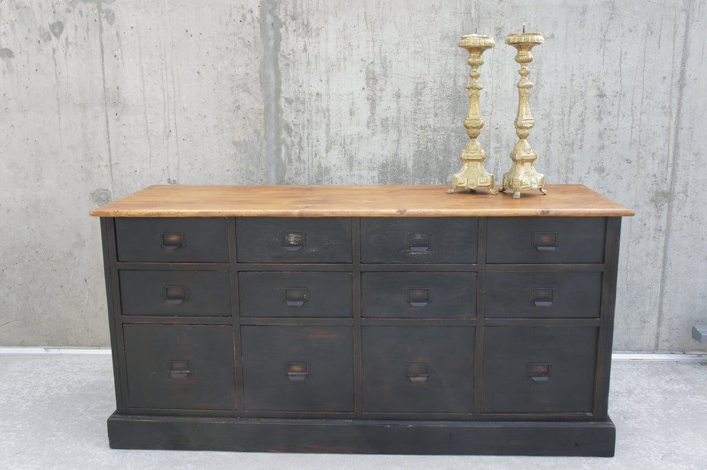 Factory Sideboard (9) Chest of Drawers/Sideboard